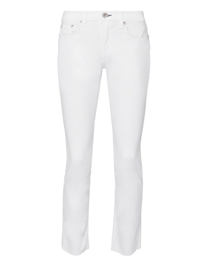 Dre White Jeans