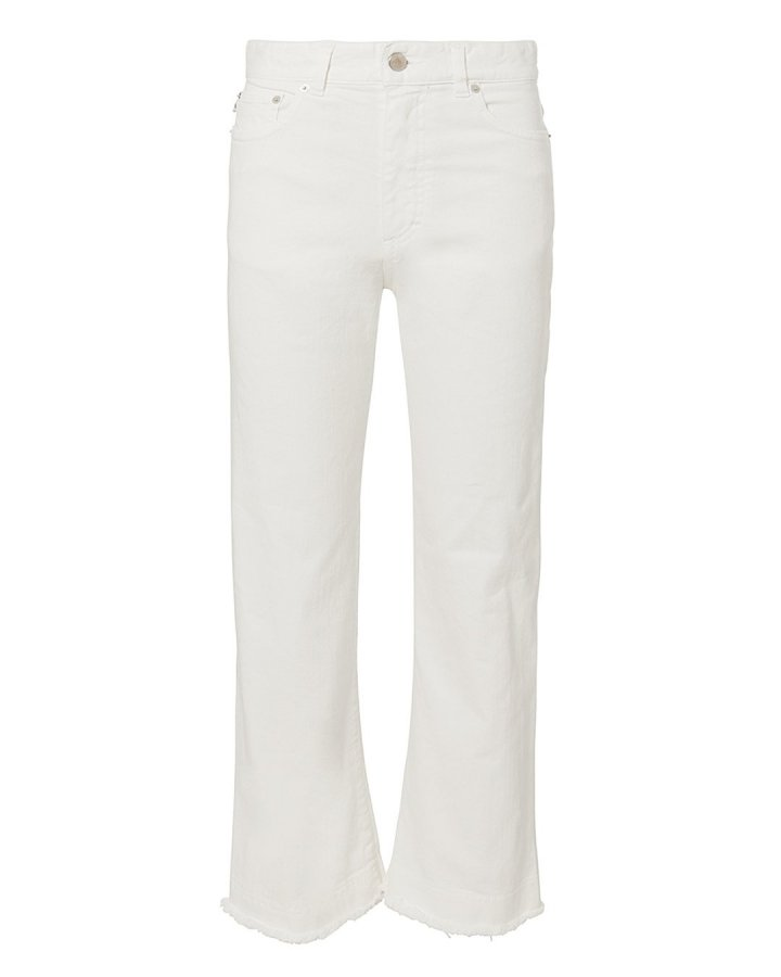 Viva Cropped Flare Jeans