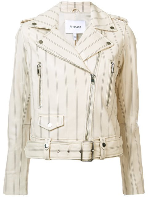 Derek Lam 10 Crosby Perfecto Leather Jacket - Farfetch