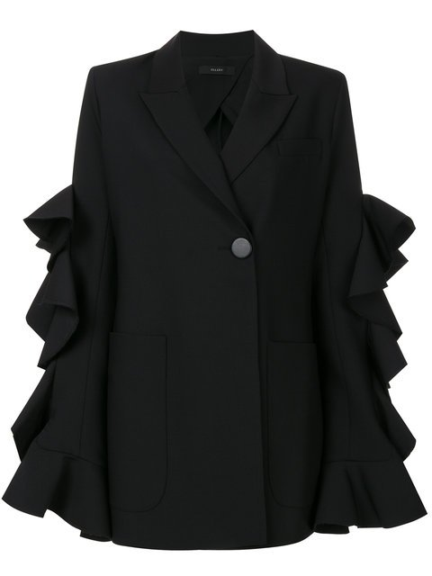 Ellery Ruffled Sleeve Jacket - Farfetch
