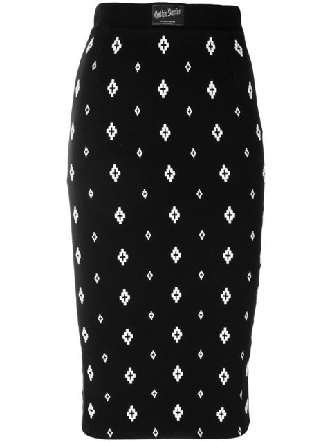 Marcelo Burlon County Of Milan Cross Skirt - Farfetch