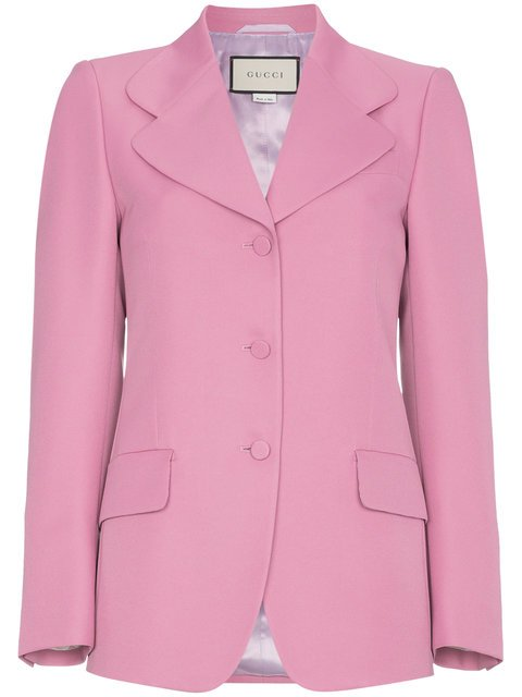 Gucci Pink Suit Blazer  - Farfetch