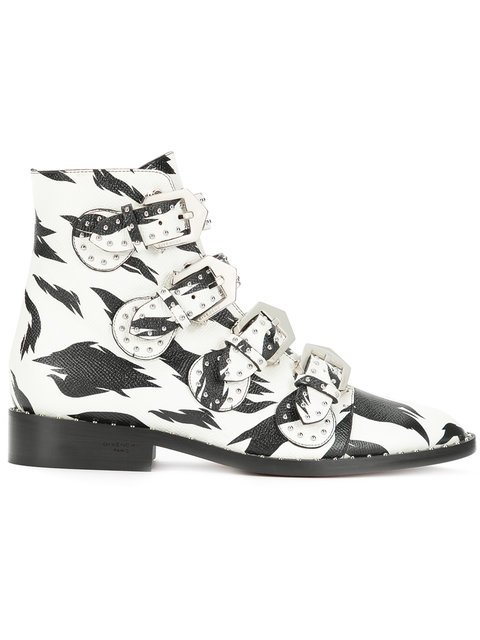 Givenchy Printed Elegant Boots - Farfetch