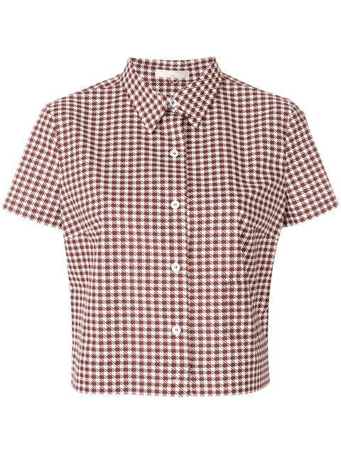 Mantu Houndstooth Shirt - Farfetch