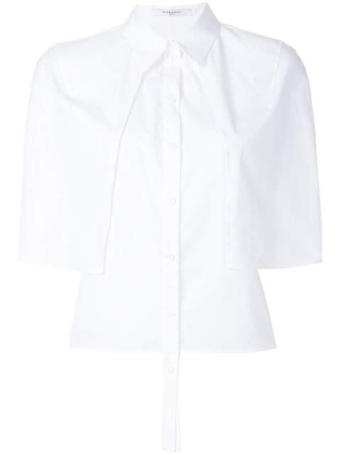 Givenchy Short Sleeve Cape Shirt - Farfetch