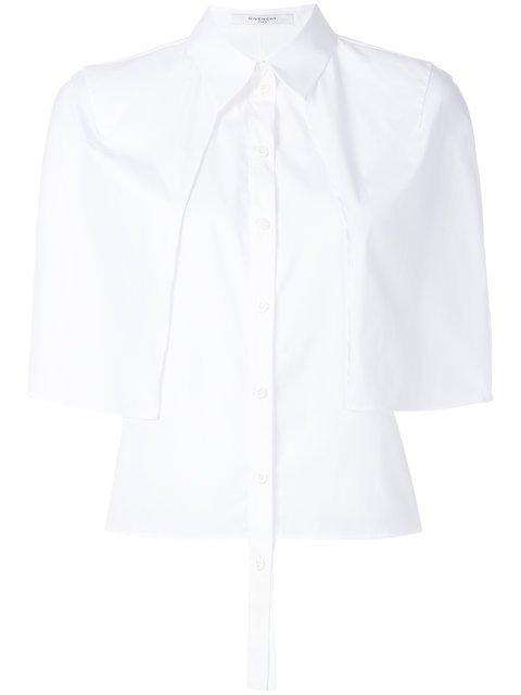 Givenchy Short Sleeve Cape Shirt - Farfetch