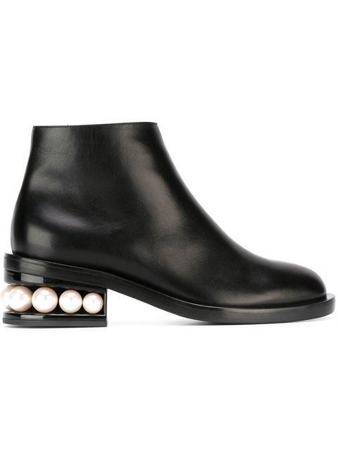 Nicholas Kirkwood Casati Pearl Ankle Boots - Farfetch