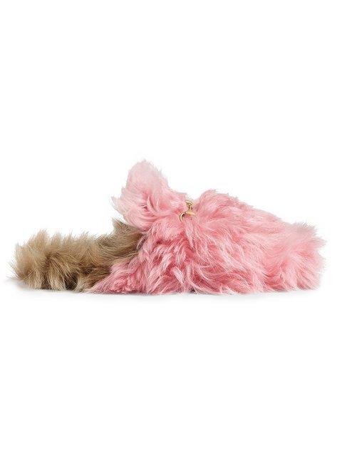 Gucci Pink Princetown Merino Wool Mules - Farfetch