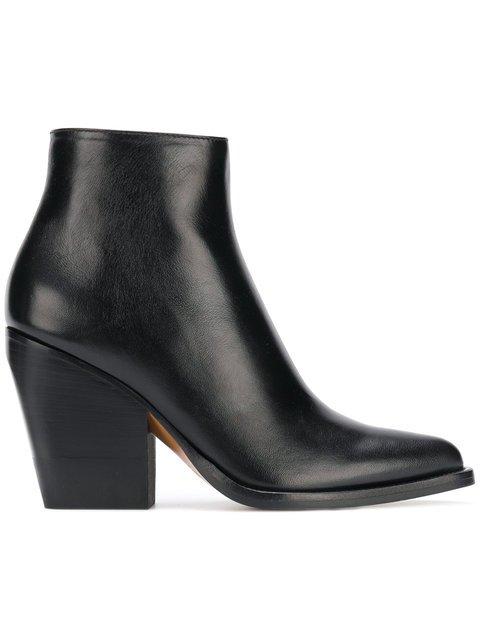 Chloé Rylee Low Boots - Farfetch