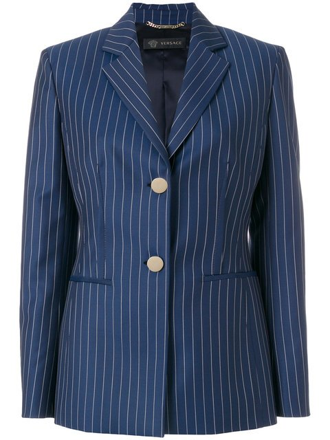 Versace Classic Striped Blazer - Farfetch