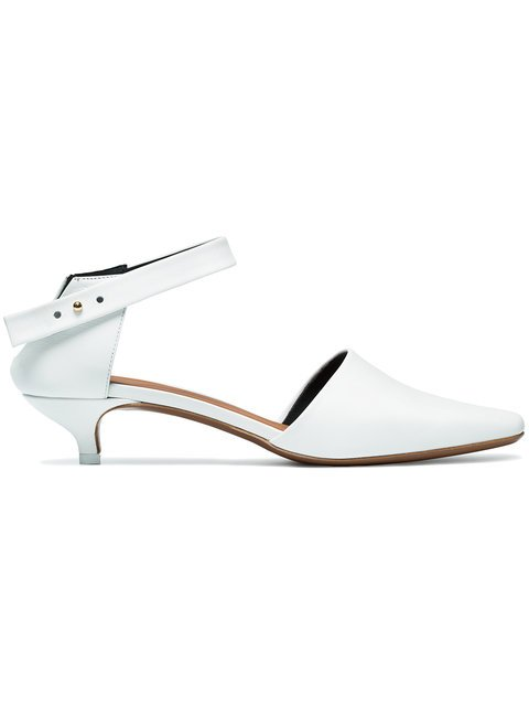 Neous White Pholidota 60 Pumps - Farfetch