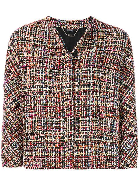 Alexander McQueen Wishing Tree Tweed Jacket - Farfetch