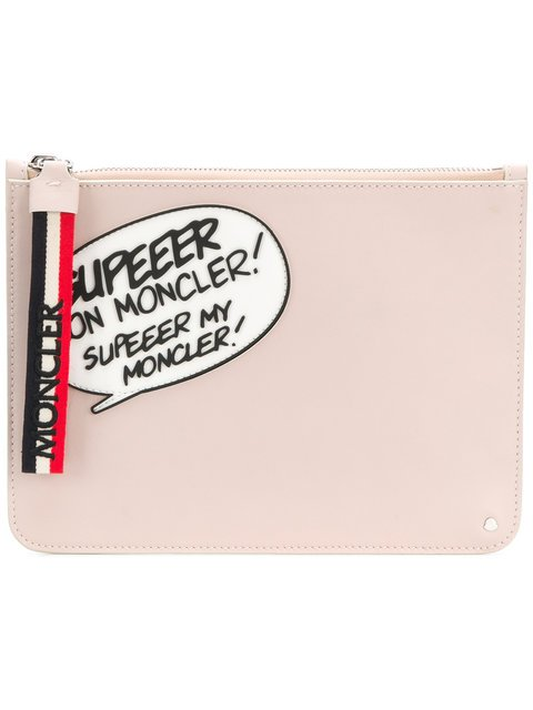 Moncler Comic Clutch - Farfetch