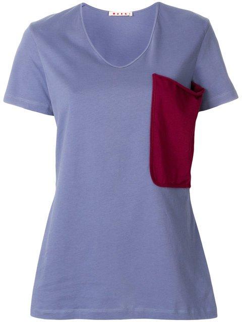 Marni Patch Pocket T-shirt - Farfetch