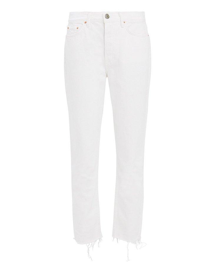 Karolina White Skinny Jeans