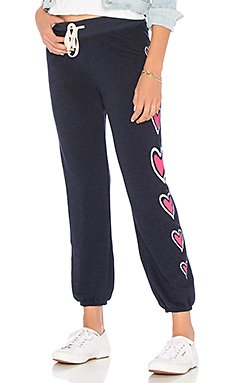 Side Hearts Basic Sweatpant                                             SUNDRY