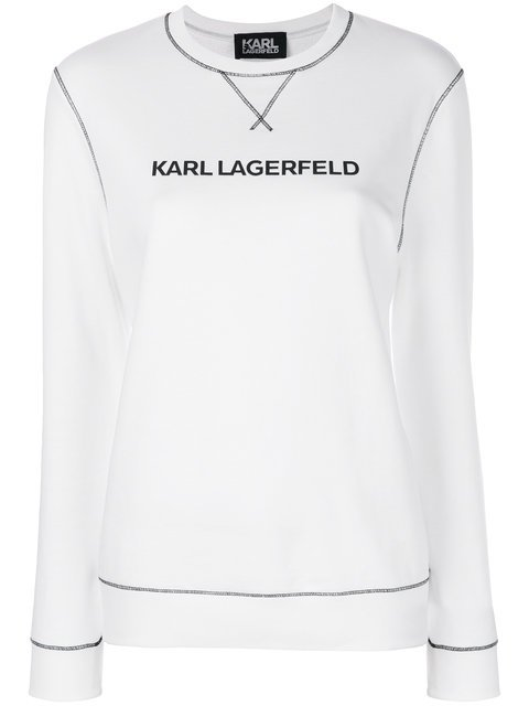 Karl Lagerfeld Karl\'s Essential Sweatshirt - Farfetch