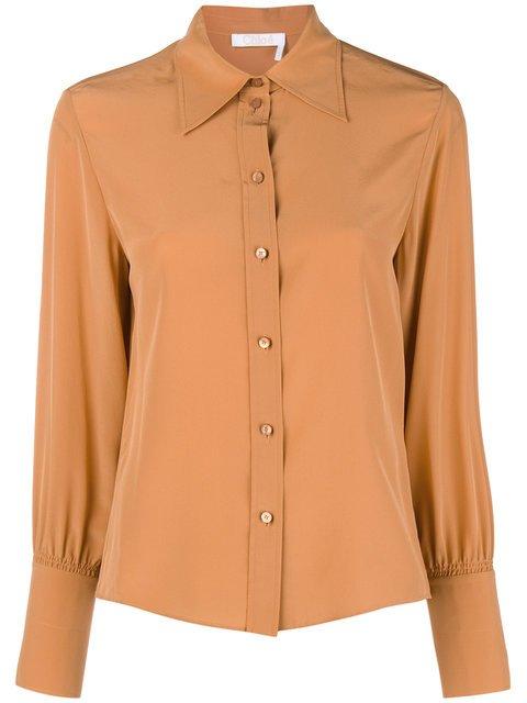 Chloé Button Down Shirt  - Farfetch