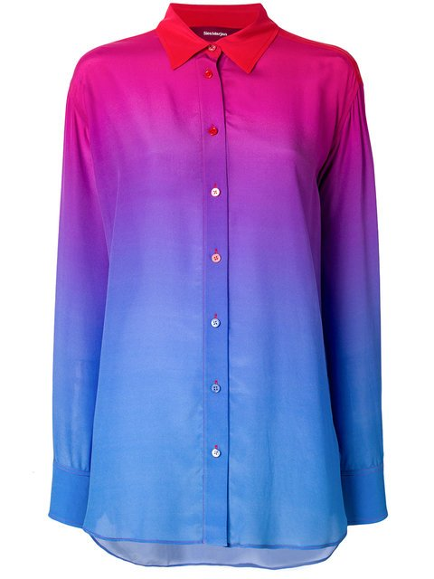 Sies Marjan Ombre Button-down Shirt - Farfetch