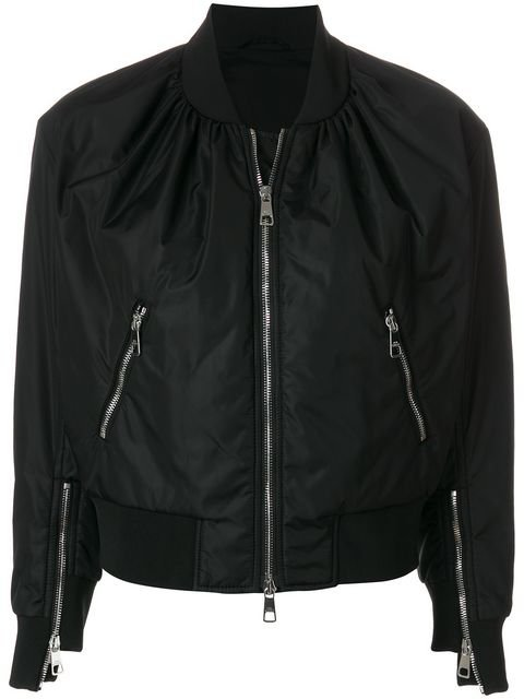 Neil Barrett Zipped Bomber Jacket  - Farfetch