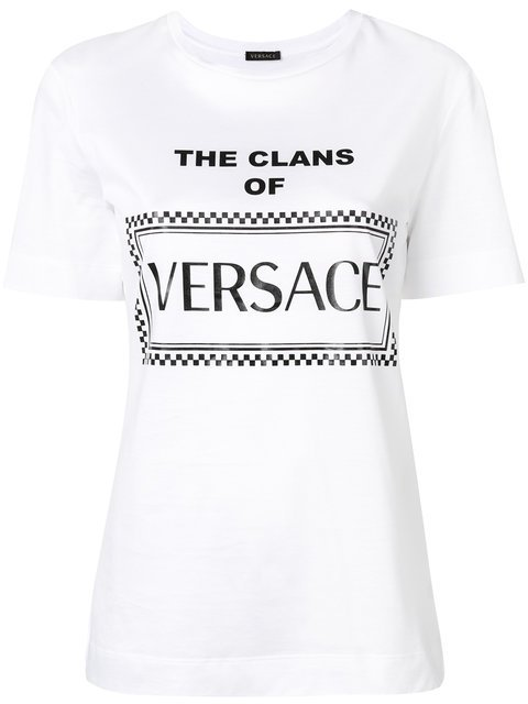Versace The Clans T-shirt - Farfetch