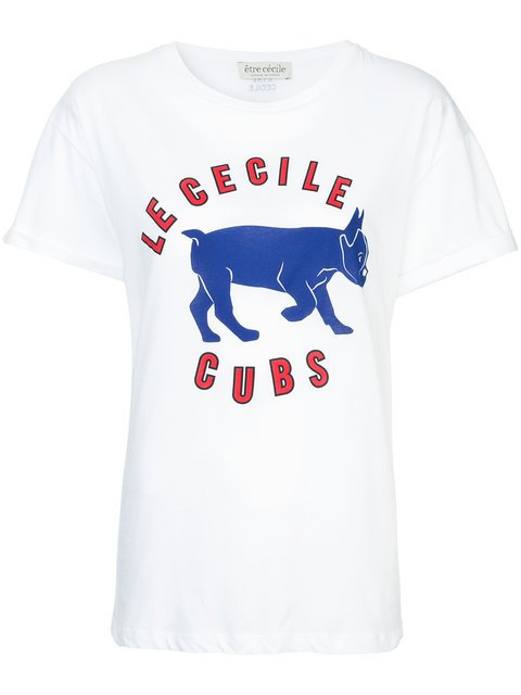 Être Cécile Cubs Print T-shirt - Farfetch