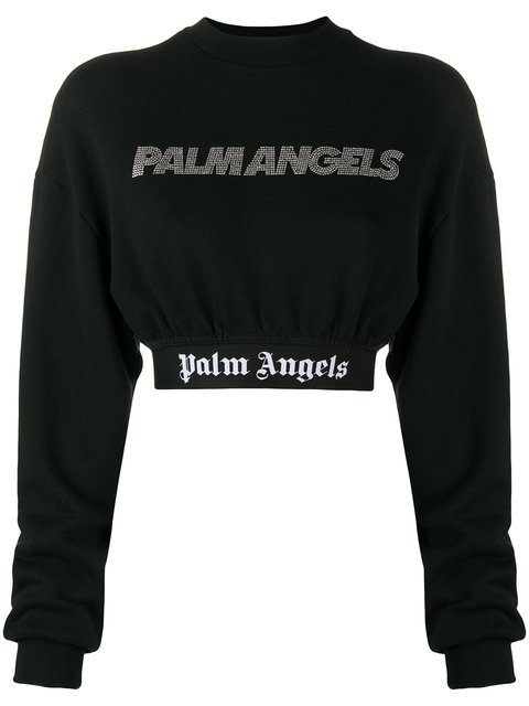 Palm Angels Cropped Sweater - Farfetch