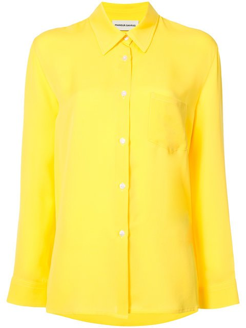 Mansur Gavriel Long-sleeved Shirt - Farfetch
