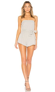 Helena Stripe Tube Romper                                             by the way.