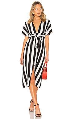 Adley Buttoned Dress                                             Bardot