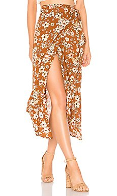 Caribe Wrap Skirt                                             FAITHFULL THE BRAND