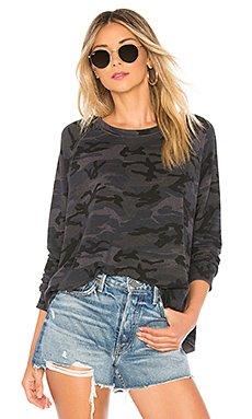 Camo Trapeze Sweatshirt                                             SUNDRY