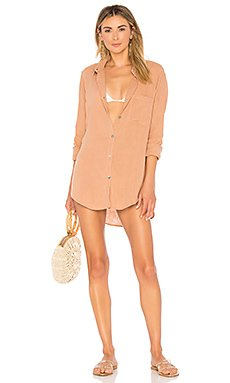 Milos Shirt Dress                                             Acacia Swimwear
