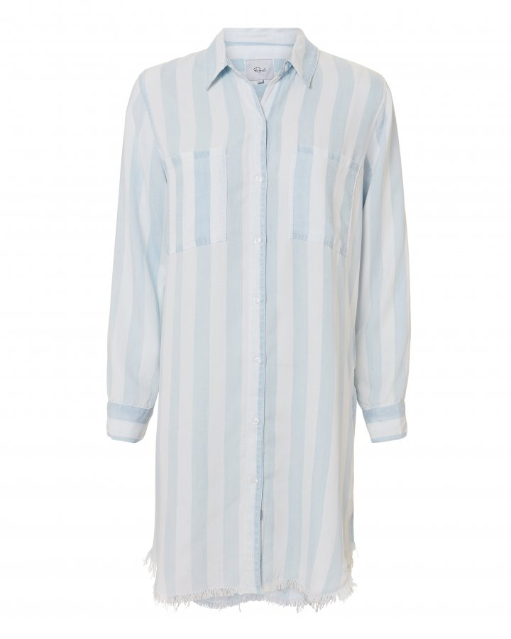 Julian Striped Shirtdress