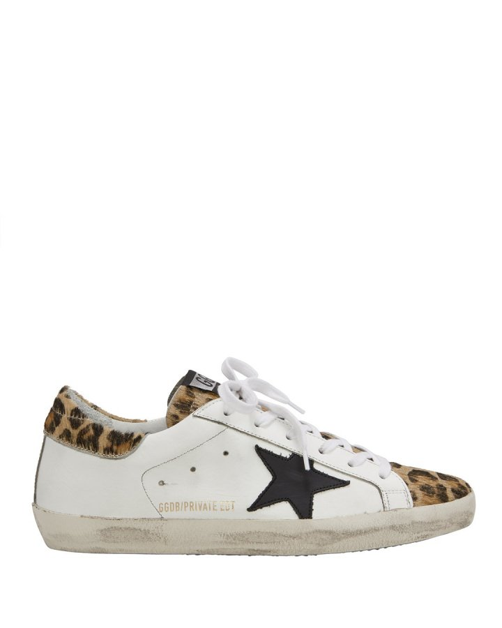 Superstar Leopard Low-Top Sneakers