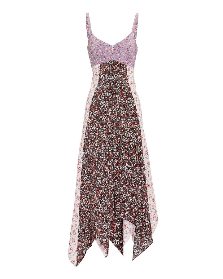 Isla Floral-Printed Midi Dress