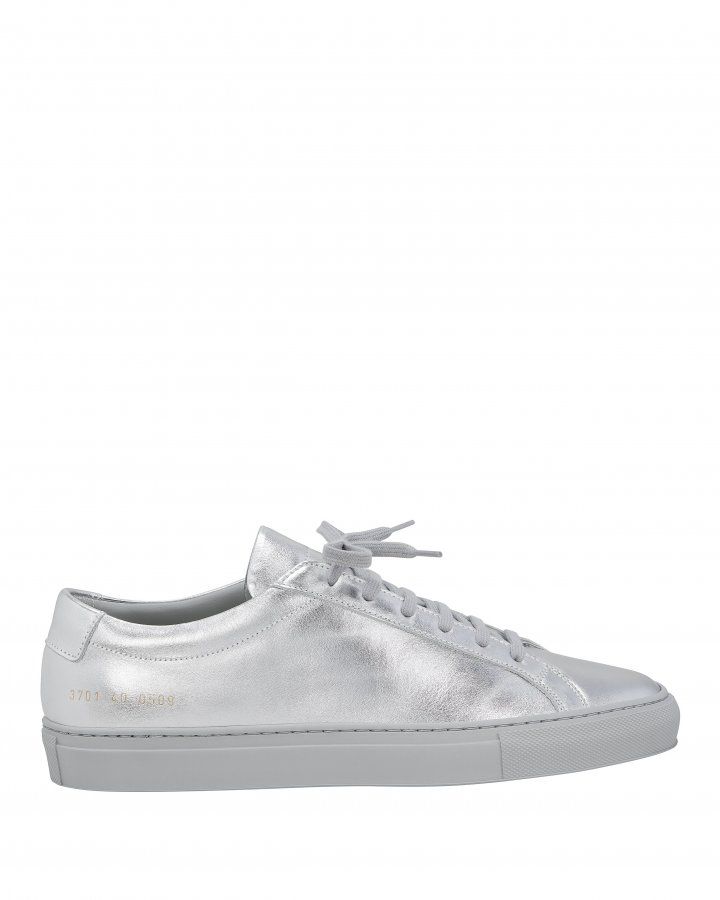 Achilles Metallic Leather Sneakers