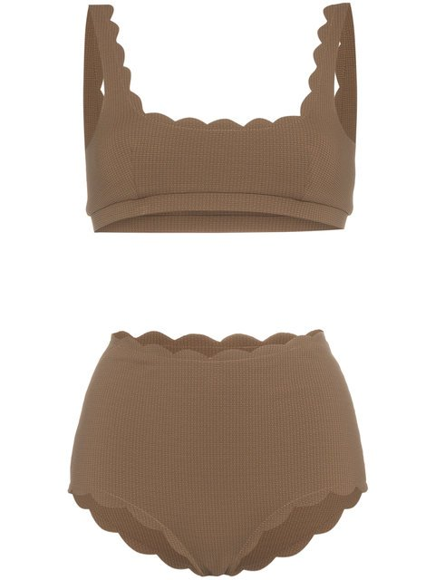 Marysia Palm Springs Scalloped Bikini - Farfetch