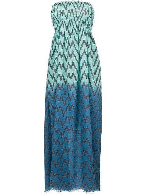 Tara Matthews Capo Zig-zag Maxi Beach Dress - Farfetch