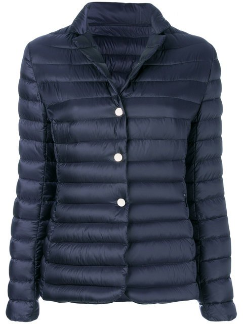 Moncler Fitted Padded Jacket - Farfetch