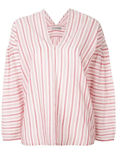 Vince Striped Blouse  - Farfetch