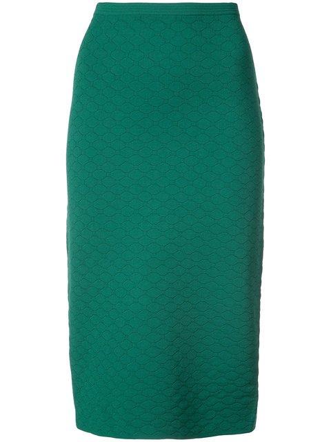 Dvf Diane Von Furstenberg Geometric Textured Skirt  - Farfetch