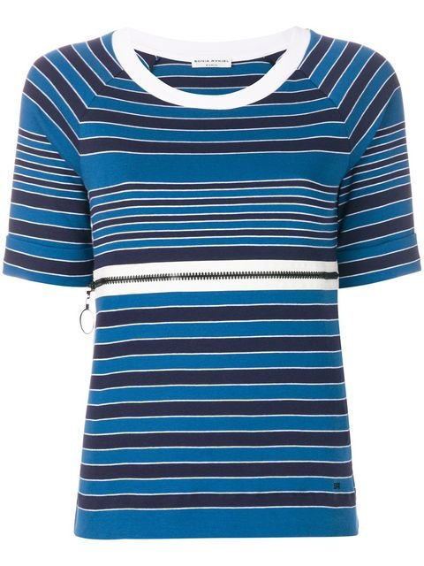 Sonia Rykiel Shortsleeved Nautical T-shirt - Farfetch