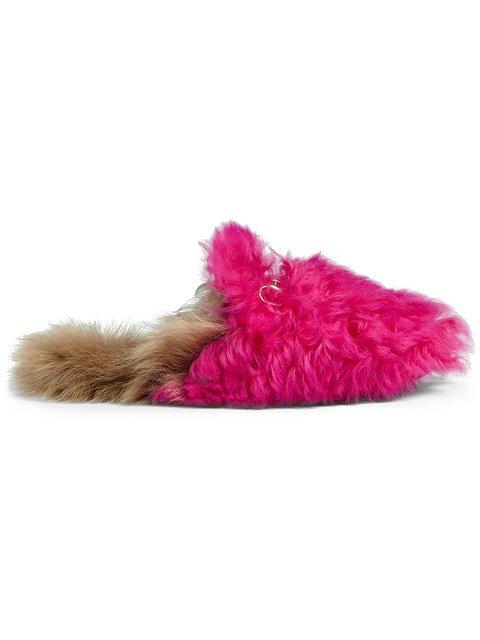 Gucci Princetown Merino Wool Slipper - Farfetch