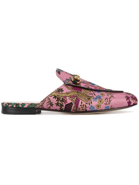 Gucci Princetown Donald Duck Slippers - Farfetch