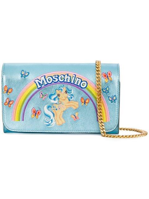 Moschino My Little Pony Metallic Clutch - Farfetch