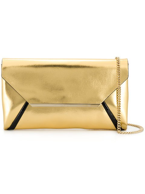 Lanvin Evening Laminated Clutch - Farfetch