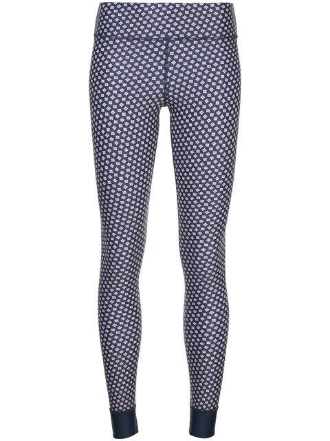The Upside Geometric Print Leggings - Farfetch