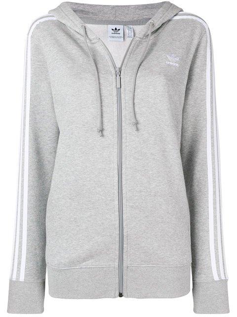 Adidas Classic 3-stripes Hoodie - Farfetch