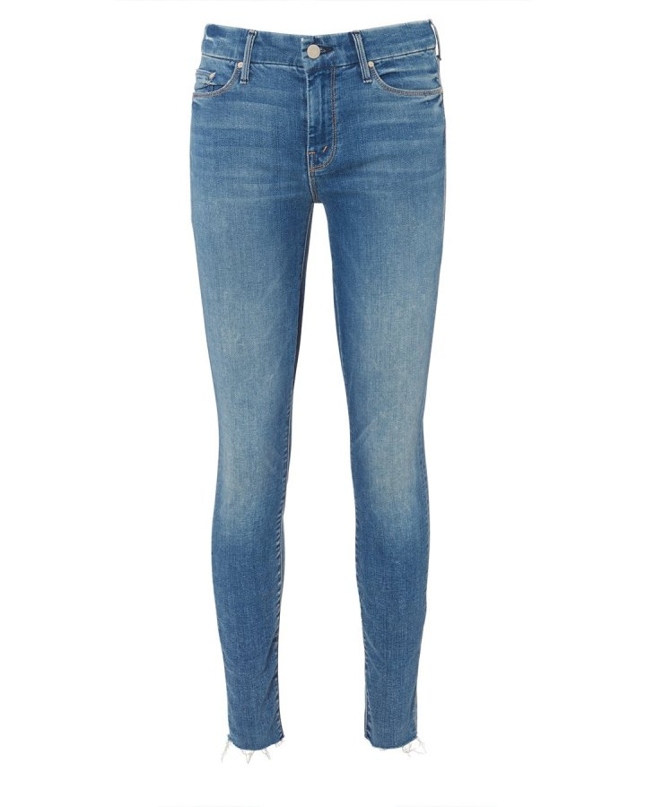 Looker Ankle Frayed Jeans